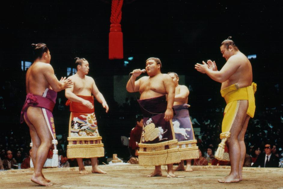 大相撲巡業 相撲甚句
